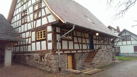 Sanierung Von Fachwerk Holzbau Harald Fotteler