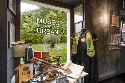 """Trüffelmuseum -Museo del Tartufo """"Paolo Urbani"""" - Das Trüffelmuseum befindet sich in der kleinen umbrischen Stadt Scheggino"""