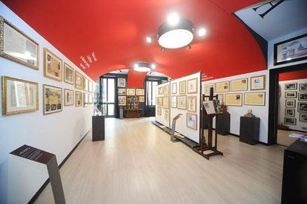 Trüffelmuseum -Museo del Tartufo di Alba - Die zuvor eröffnete Galerie der Erinnerungen wird zu einem echten Trüffelmuseum