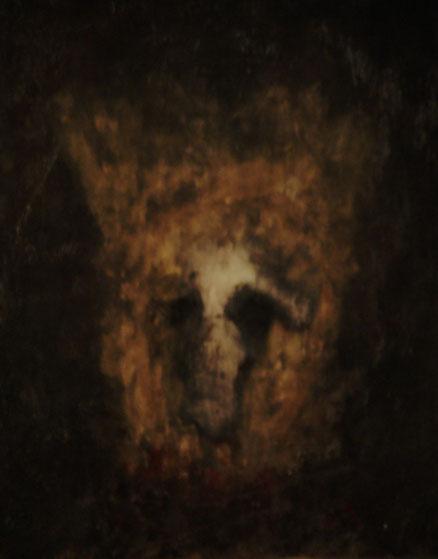 Erlkönig, Acryl auf Hartfaser, 50x40, 2011