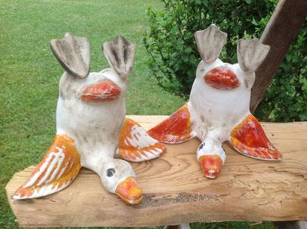 Hoppalla, Sturzflug, Ente aus Keramik19,-