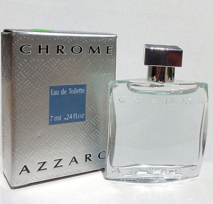 AZZARO CHROME - EAU DE TOILETTE POUR HOMME 7 ML