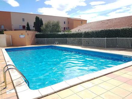 Appartement à Gruissan Les Ayguades - piscine de la résidence