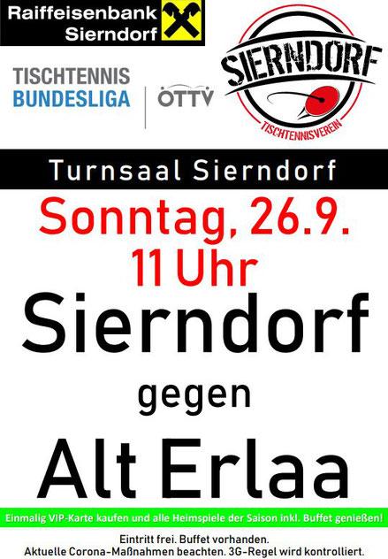 Nach den beiden Knüller-Spielen vom Wochenende geht es schon am Sonntag weiter gegen das einzige Team aus Wien. VIP-Karten machen Sinn! Siehe unten.