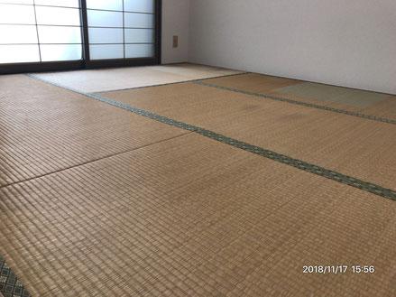 横浜市港南区の畳屋さん 内藤畳店 い草の新畳に変える前