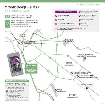 cogicogiポートマップ