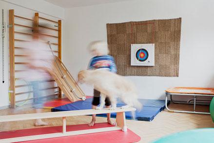 Raum für Bewegung im dreipunkt Therapiezentrum für die Ergotherapie