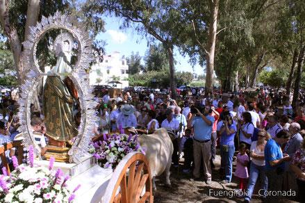 Llegada de la Virgen al Esparragal (2012)