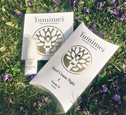 Yumimei Hand Cream im kleinen praktischen Pumpspender zum Testen!