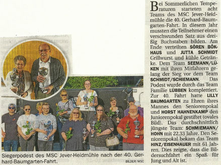 Jeversches Wochenblatt 29. Mai 2019