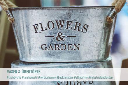 Vasen & Übertöpfe | Krempel & Gedöns