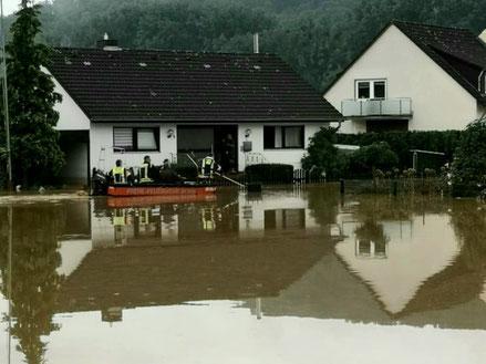 Hochwasser in Sinzig 15.07.2021