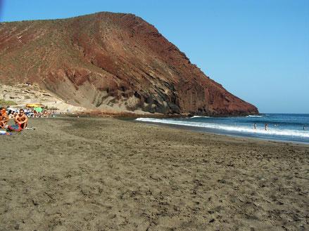 Montaña Roja, Playa La Tejita, El Médano, Teneriffa