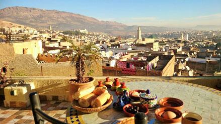 フェズ旧市街(私が最初にモロッコに惚れた場所)