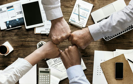 Personalberatung / Personalvermittlung, Partnerschaft, langfristige Kundenbeziehung, Teamwork, Zusammenarbeit