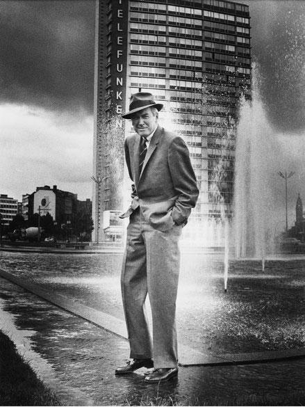James Stewart, 1962 Foto: Heinz Köster, © Deutsche Kinemathek