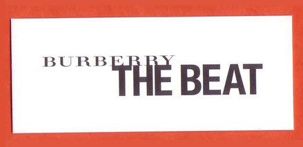 BURBERRY - THE BEAT : RECTO