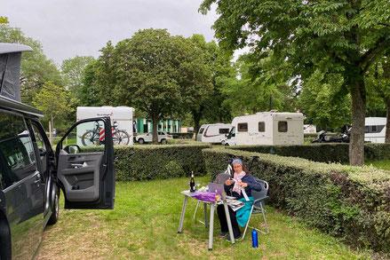 Campingplatz Dijon Camping du Lac Kir