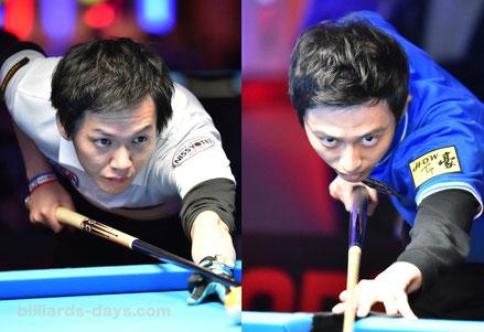 Semi final : Masato Yoshioka vs Ko Ping Chung ※写真は2019 US OPEN
