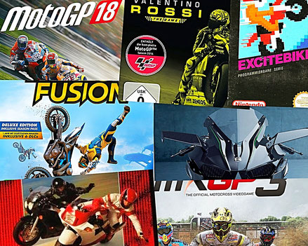 Diverse Motorrad Spiele