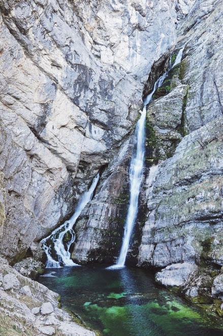 bigousteppes cascade slovénie