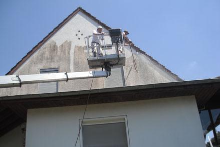Fassadenreinigung in Trulben