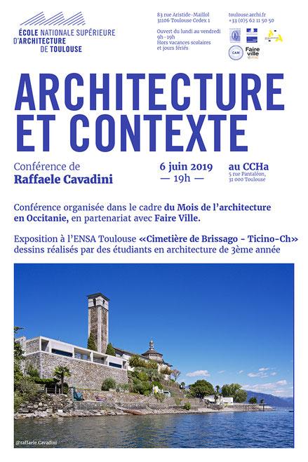 Affiche conférence Bruno QUEYSANNE 22 mai 2019 - Faire-Ville - CCHa