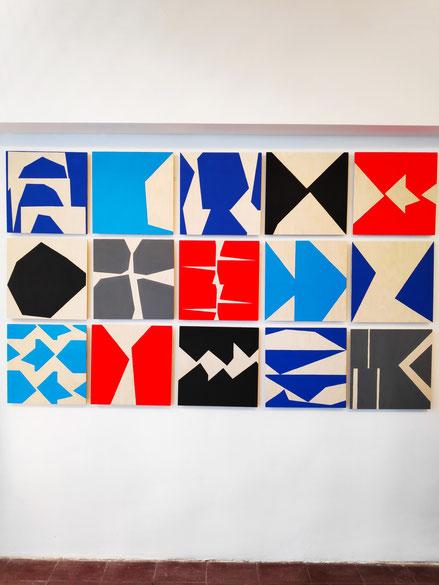 Ulla Pedersen in der Galerie SEHR Koblenz 2019