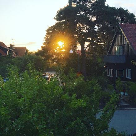 ヨーテボリの民泊の窓からみた景色_株式会社ウォリス