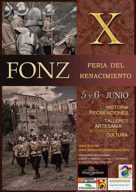 feria del renacimiento en fonz (Huesca)