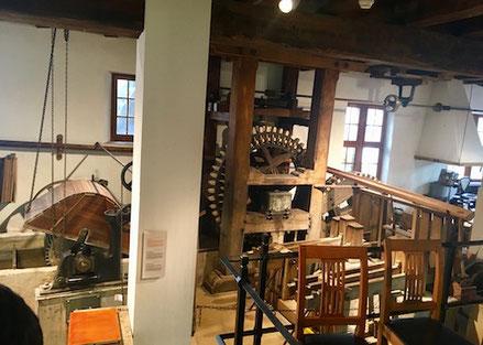 Werkstatt einer Mühle