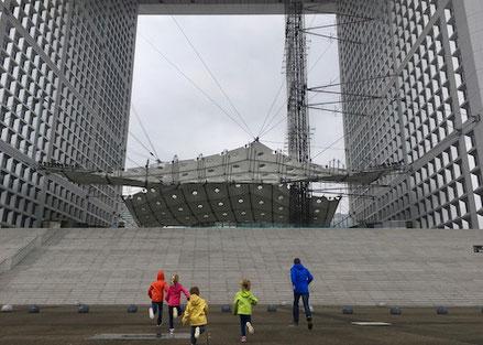 La Grande Arche, la Défense, Paris, Stadt