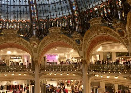 Lafayette, Einkaufshaus, Paris