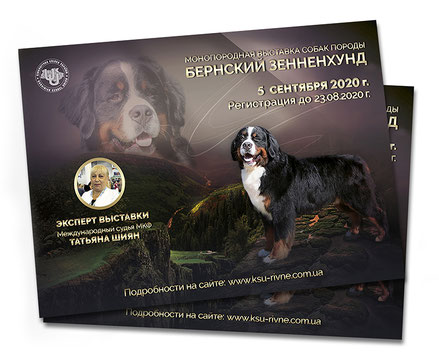 expert judge UKU FCI Sergei Bondaryuk; master class advertising; dogs posters; elegant dogs animals flyers design; order online; Ukraine; running dogs advertising; PRS LA BEAUTY;