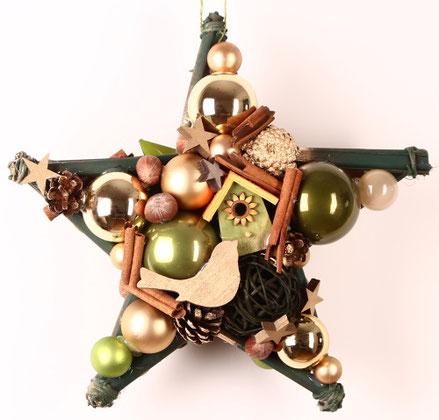 stern, handgefertigt, tür-deko, türkranz, weihnachts-deko, fenster-deko, sterne kaufen auf messen