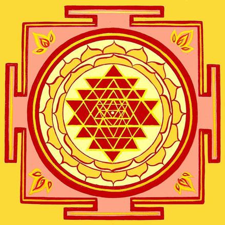 Meditación guiada Sri Yantra