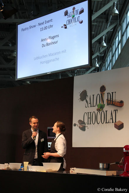 Anna Plagens von Du Bonheur in Köln - Le Salon du Chocolat