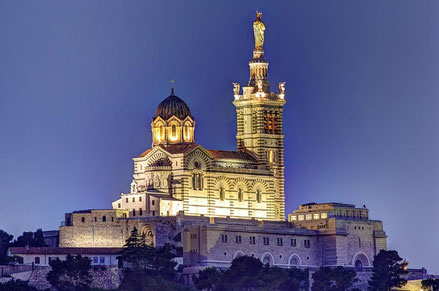 Marseille top things to do - Notre Dame de la Garde Copyright  Selden Vestrit