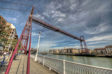 Bilbao top things to do - Vizcaya Bridge - Copyright iwillbehomesoon