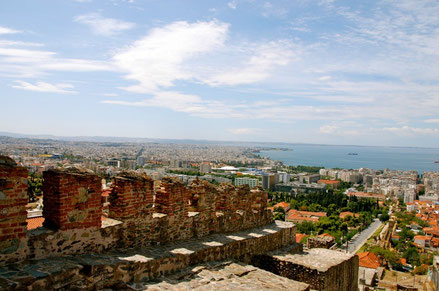 Thessaloniki top things to do - Byzantine Castle - Copyright  Jaime Pérez
