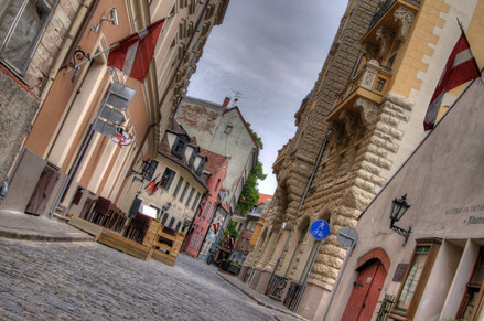 Riga top things to do - Old Town - Copyright  Clark & Kim Kays