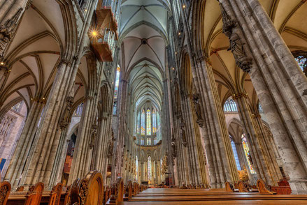 Cologne top things to do - Cologne Cathedral - Copyright  Steve Oldham