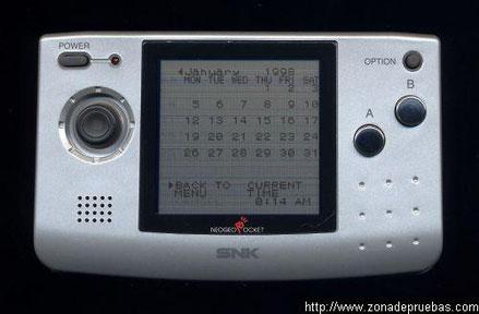 SNK Neo Geo Pocket, 1998