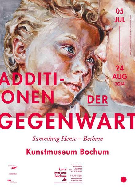 Justine Otto mit Arbeiten im Kunstmuseum Bochum vertreten. VERLÄNGERT BIS ZUM 28.09.2014