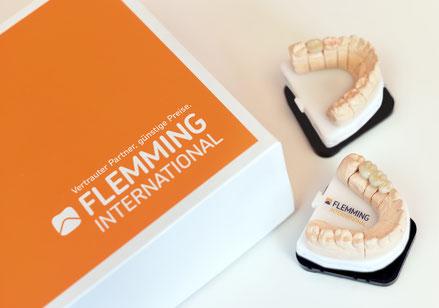Hochwertige Alternative zu günstigen Preisen:  Zahnersatz von Flemming International