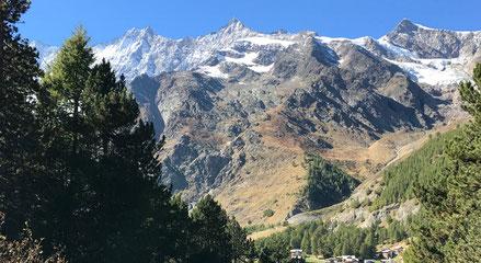 Unvergessliches Abenteuer für Gruppen dank der imposanten Bergwelt in Saas-Fee