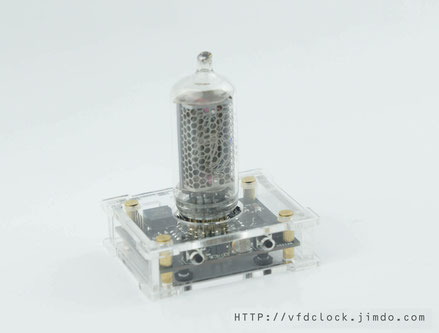 IN-8 Single Digital NIXIE Clock V1.0