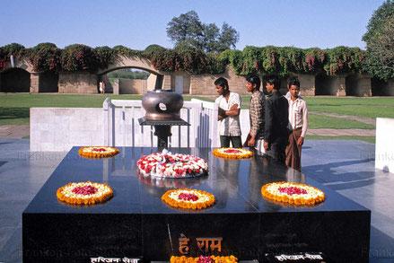 Gedenkstätte für Gandhi - INDIEN