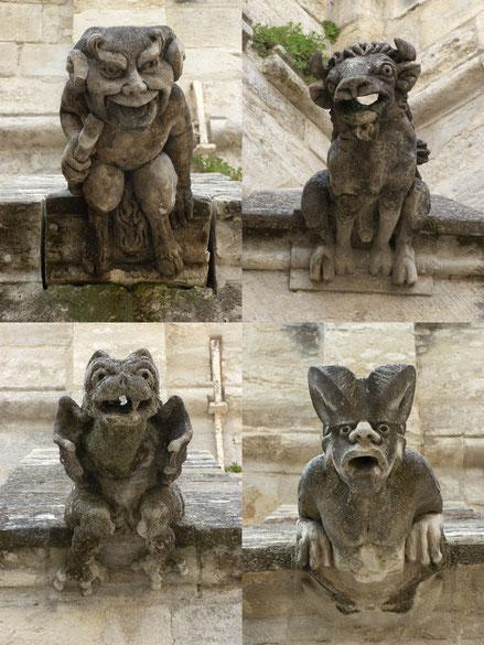 Les Gargouilles sont les représentations archétypales des gardiens de la matrice.