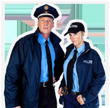 Stripperin Janine und Stripper Mike als originales Polizei-Duo für Berlin und Brandenburg